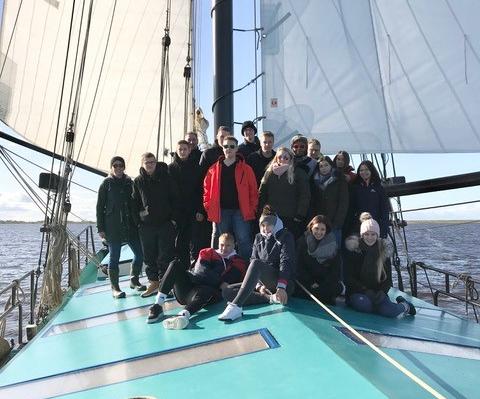 Studienfahrt auf dem Segelschiff (FOW 12B)
