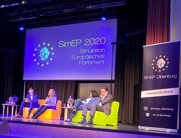 SimEP 2020 – Schüler der FOW nehmen an der Simulation zum Europäischen Parlament teil